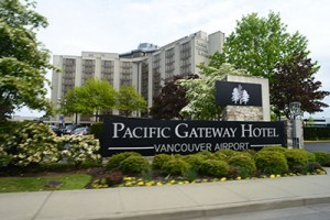 Pacific Gateway Hotel At Vancouver Airport Sign