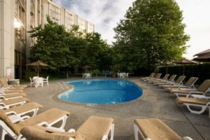 Swimming Pool at Pacific Gateway Hotel near Vancouver International Airport
