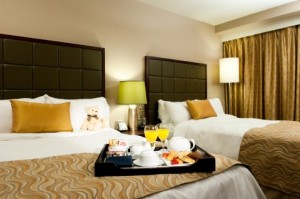 Guestrooms at Pacific Gateway Hotel YVR
